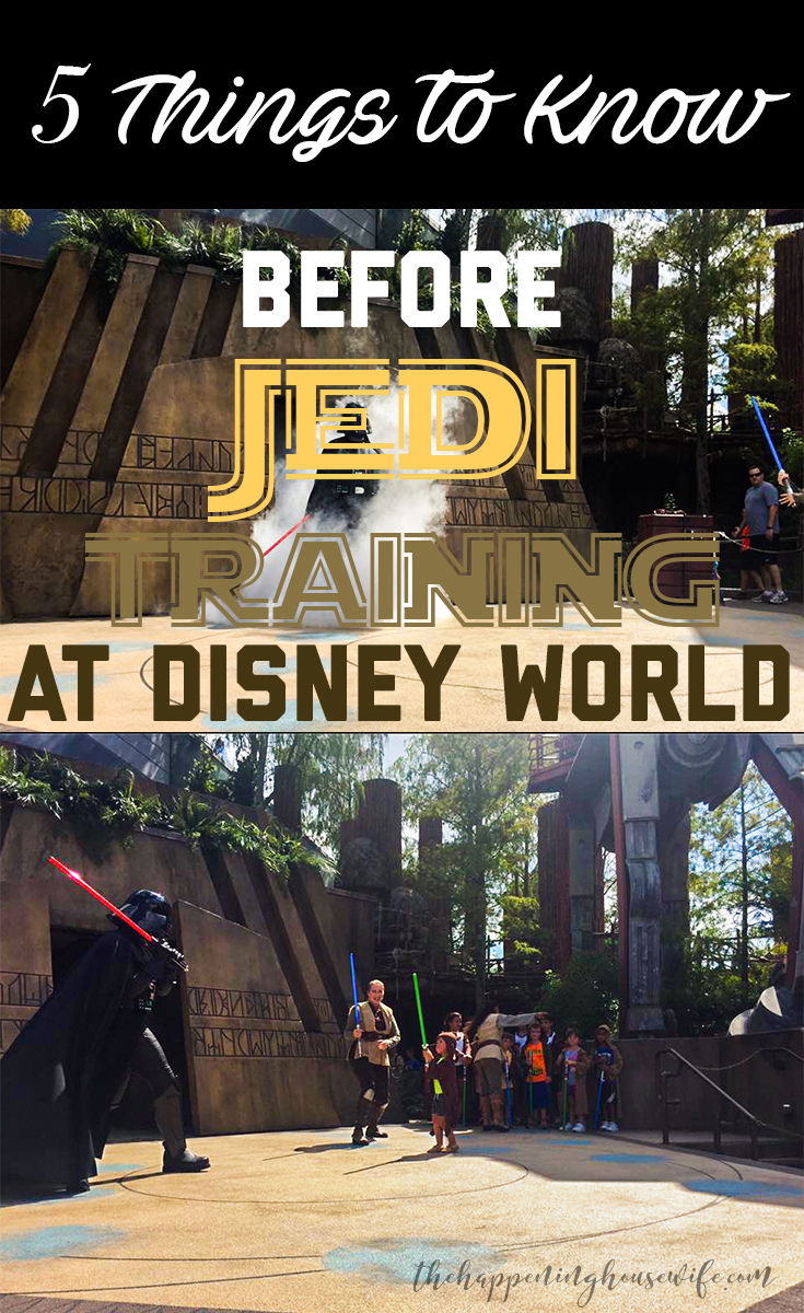 5 Things To Know Before Jedi Training at Walt Disney World