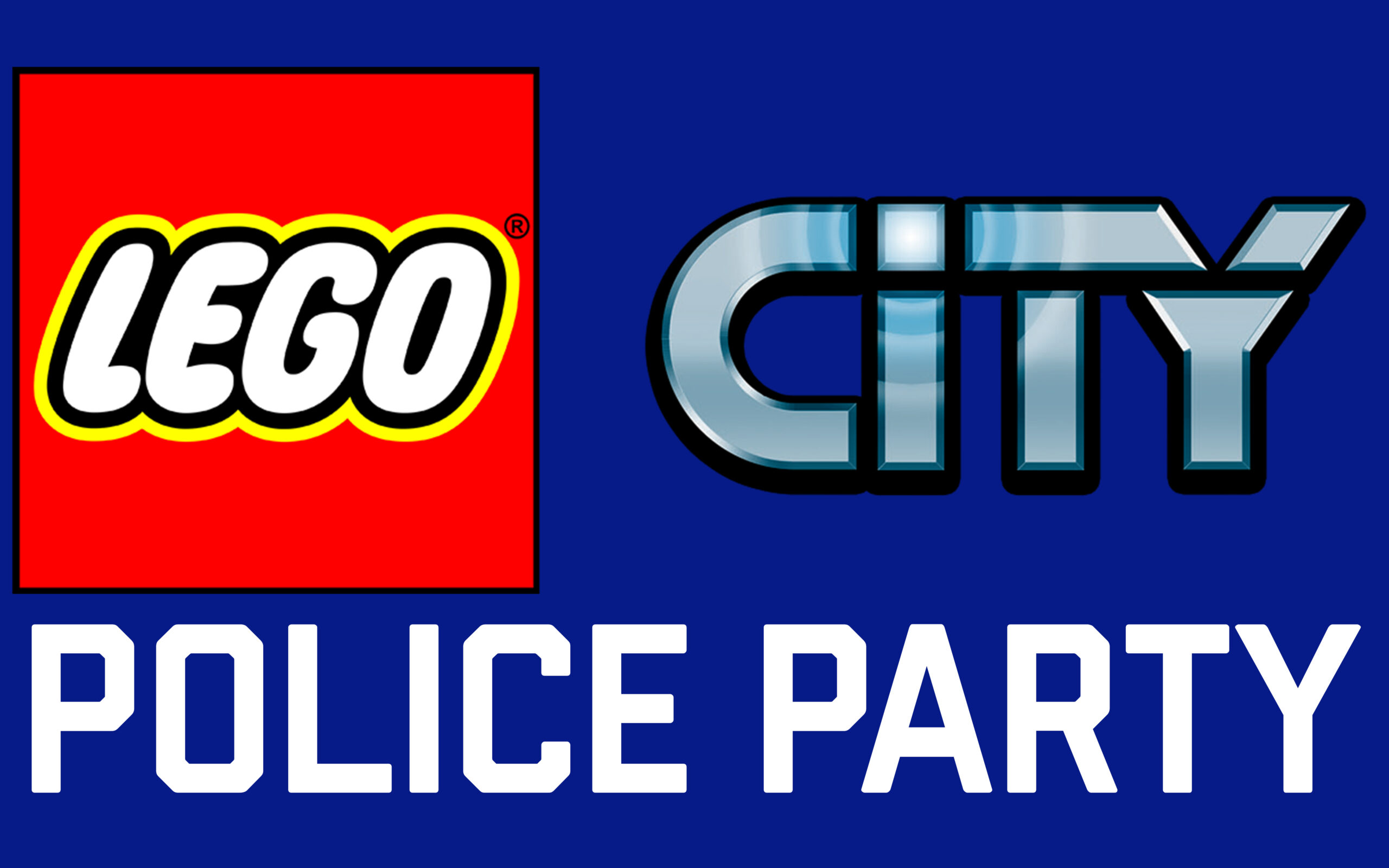 LEGO City Police Birthday Party