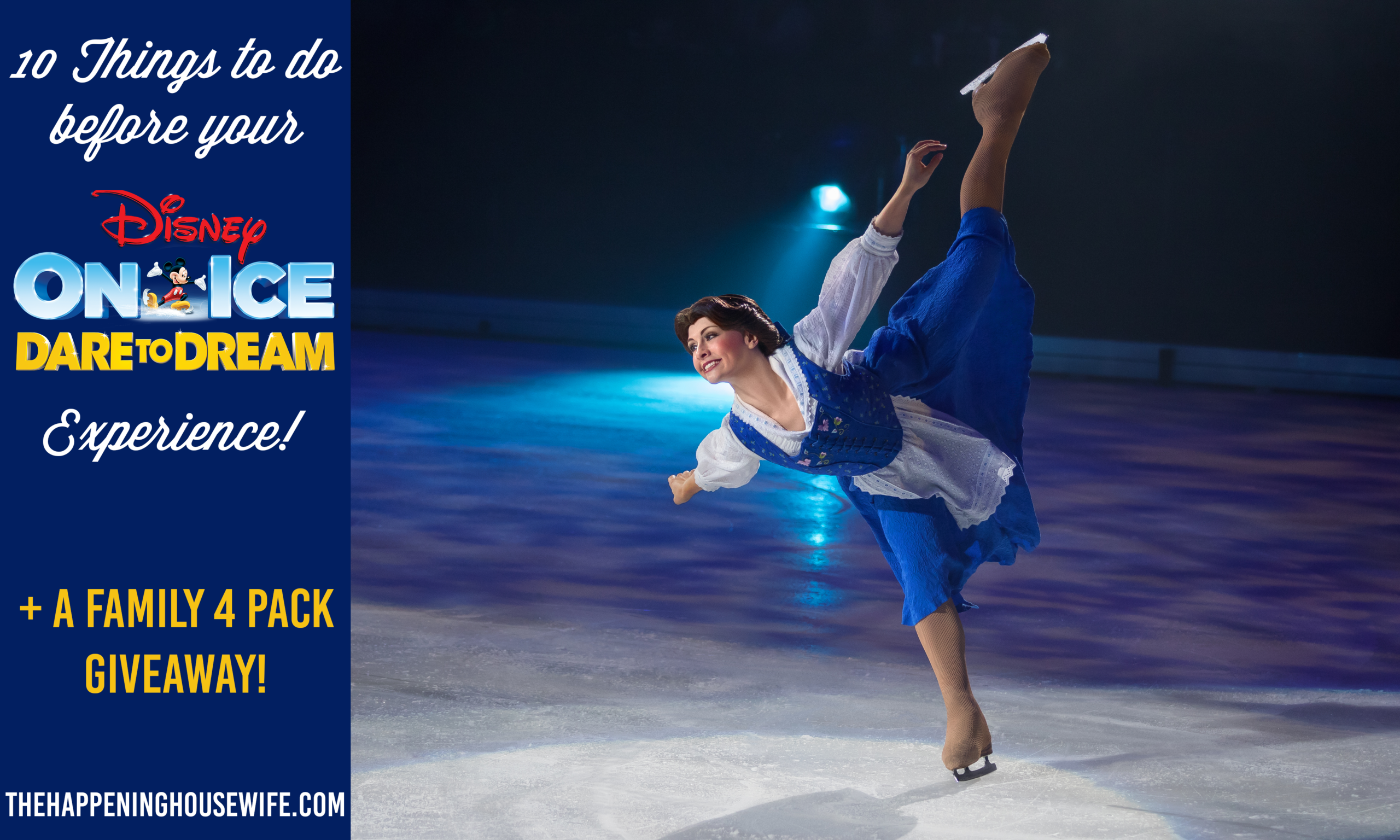10 Things To Do Before Your Disney On Ice Experience! + A GIVEAWAY!