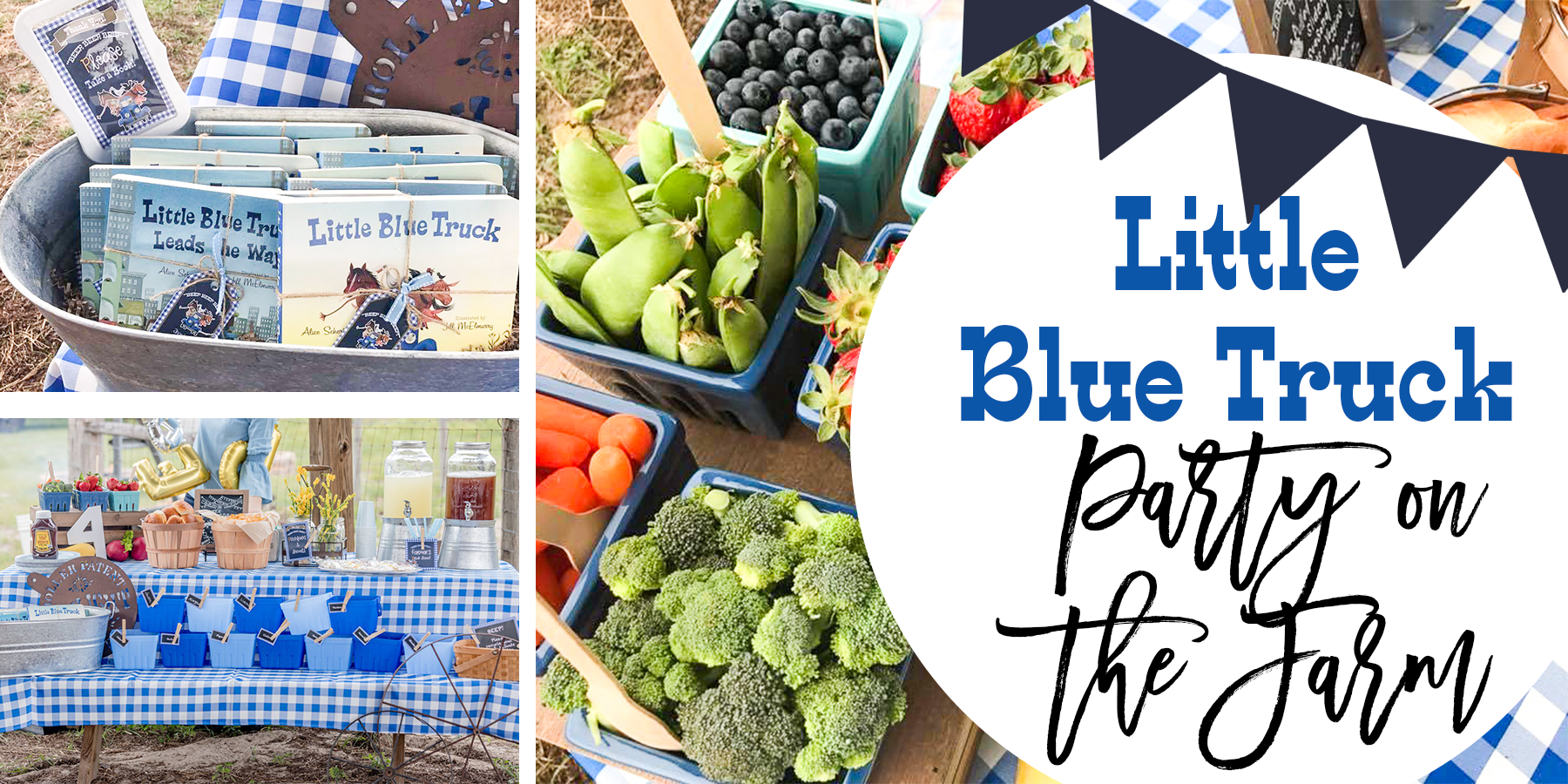Little Blue Truck Party on the Farm!