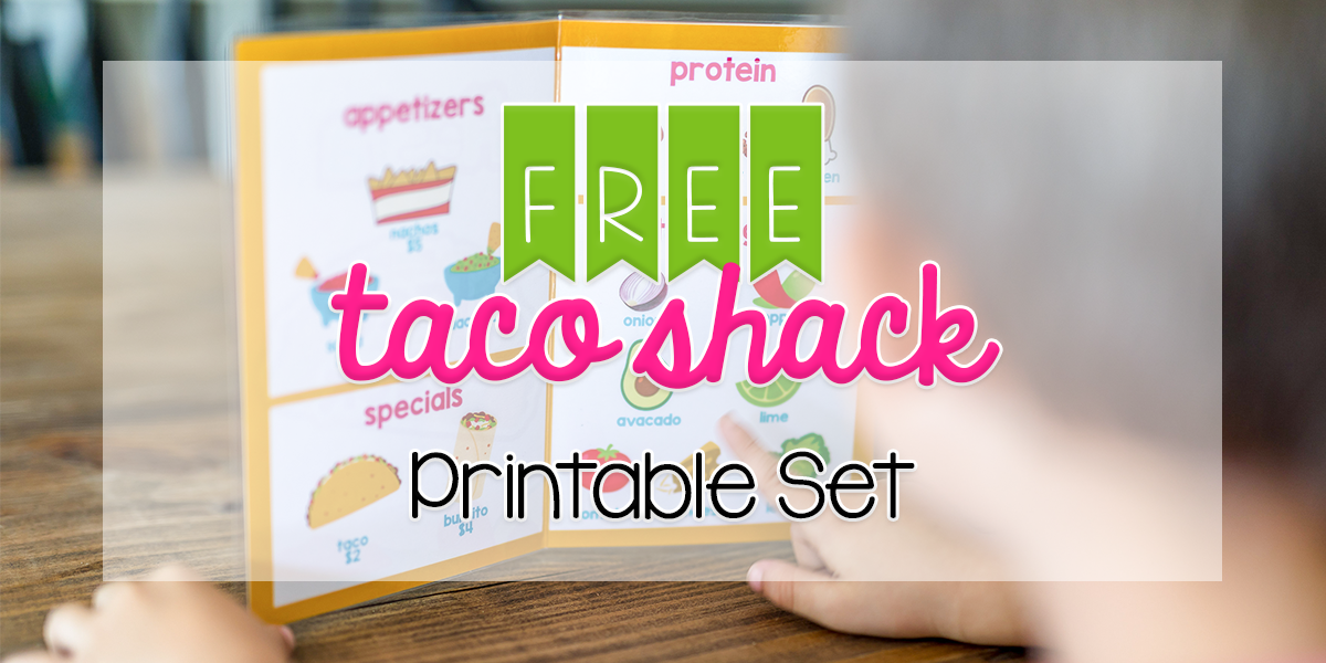 Taco Shack Printable Header