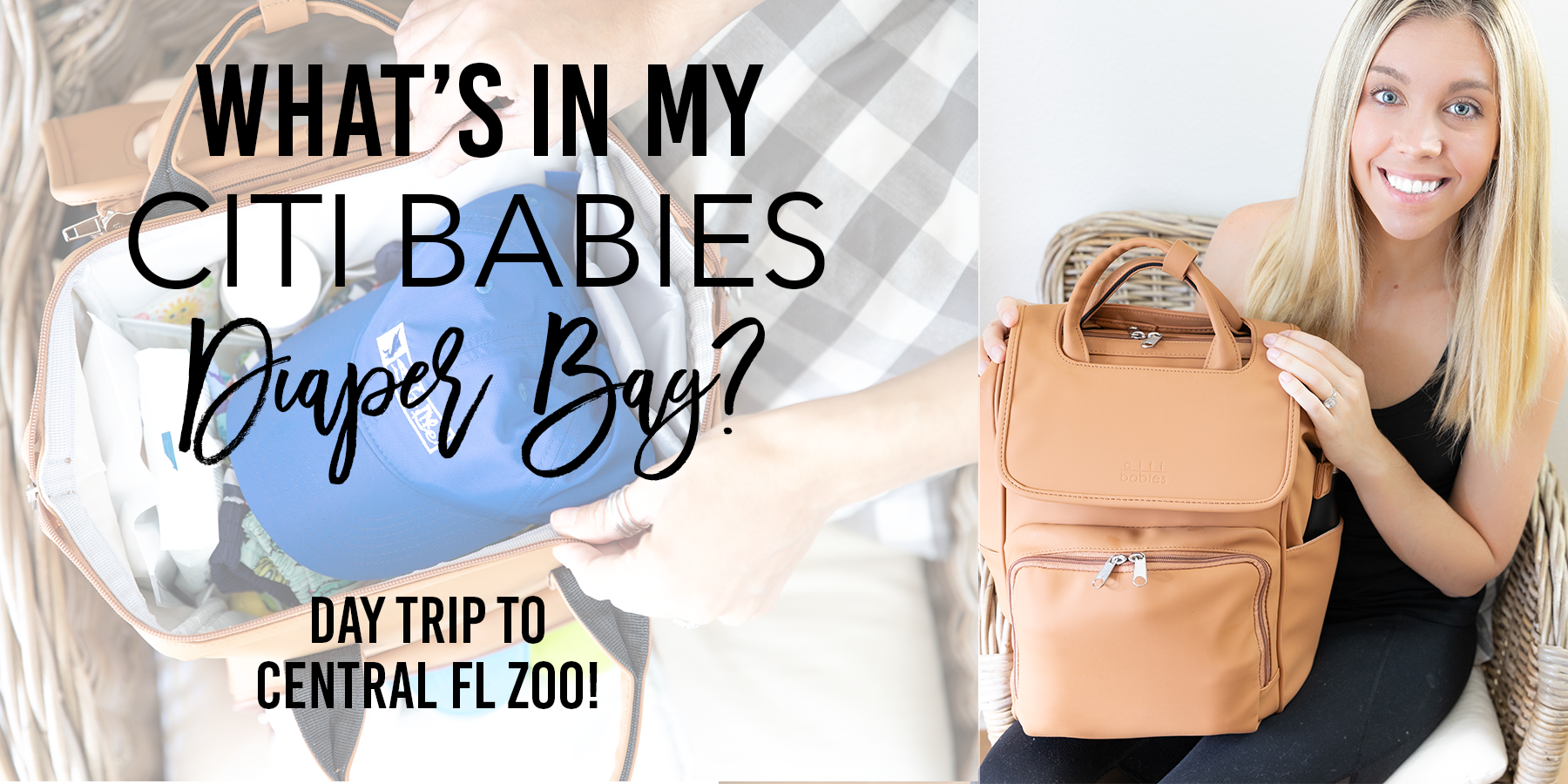 What's in My Citi Babies Diaper Bag? | Day Trip to Central FL Zoo!