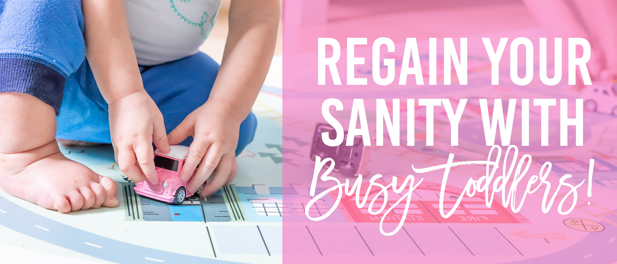 Regain Your Sanity With THIS Play Mat for Busy Toddlers! {Camp Castle REVIEW!}