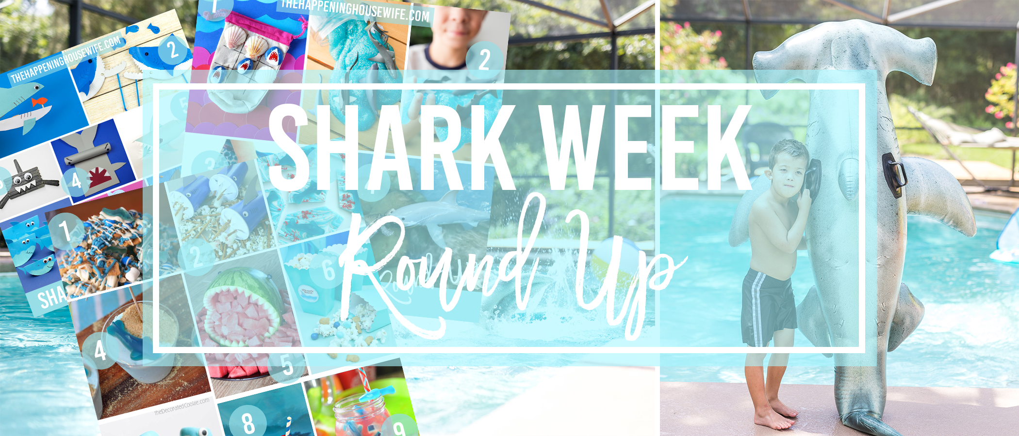 shark week header