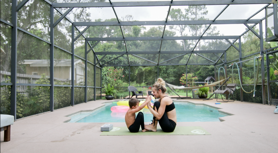 I won't lie and tell you that Mommy and Me Workouts are always a walk in  the park. Keeping littles focused for several reps can be tricky but,  switching the ...