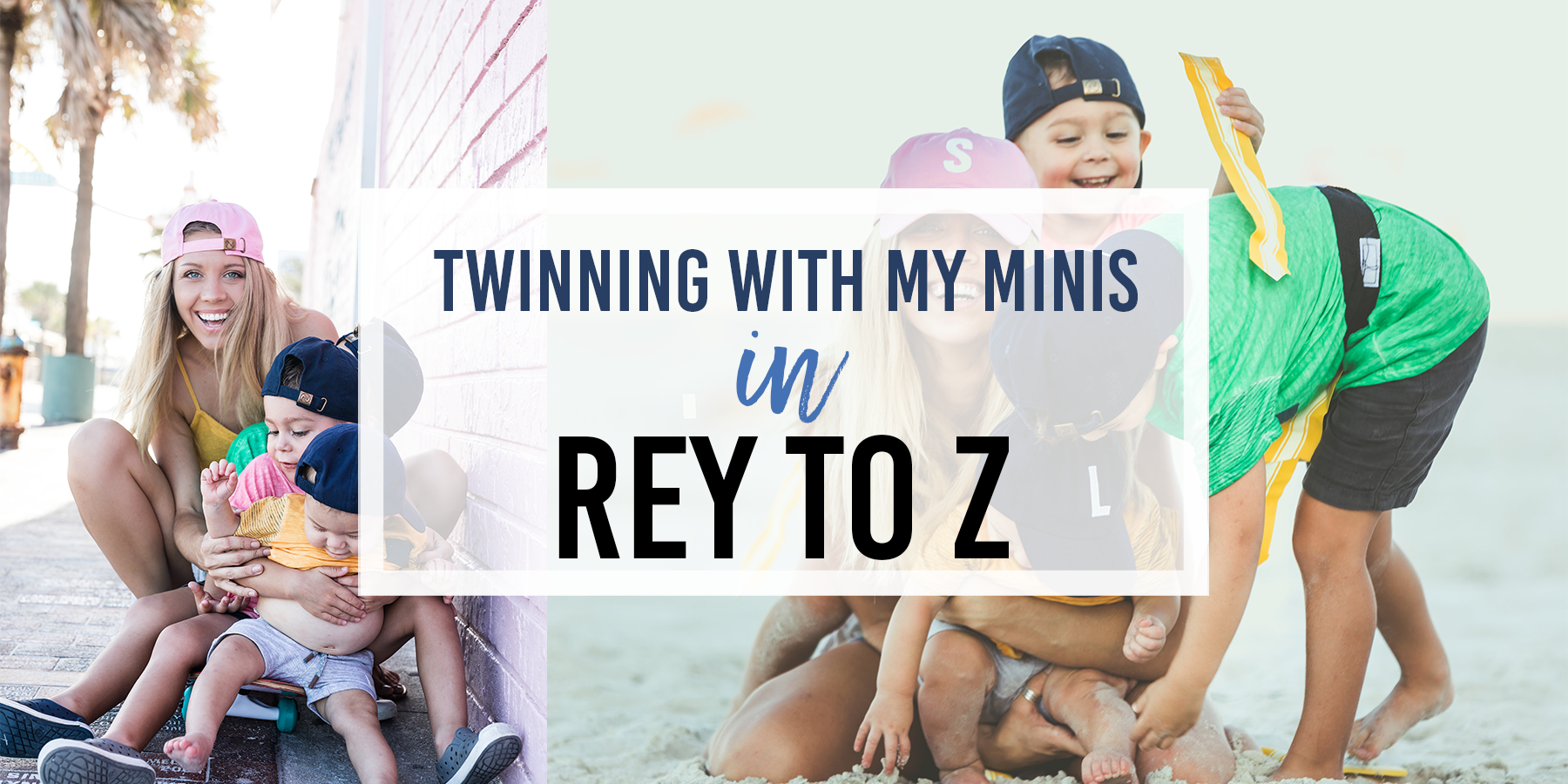 Twinning With My Minis | Rey to Z!