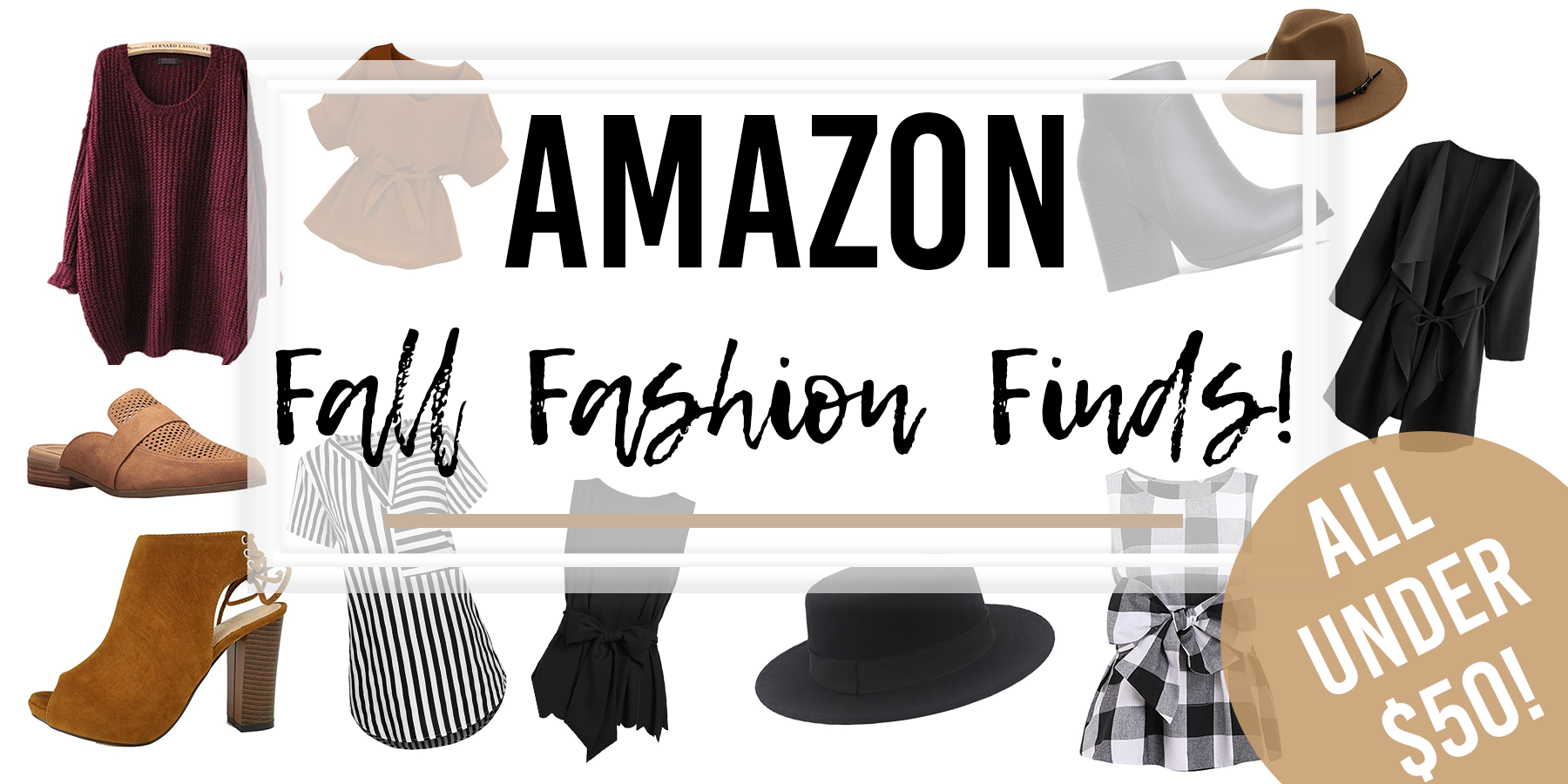 amazon fall fashion header