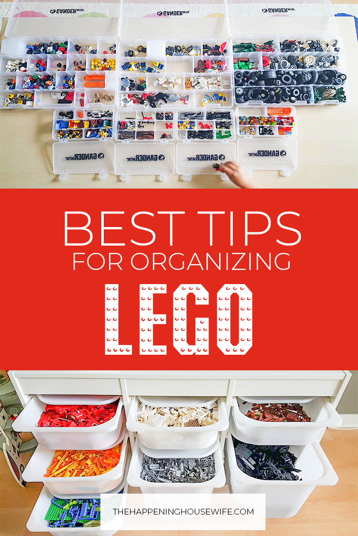 BEST TIPS for organizing LEGOS!! How to sort LEGOs by color without pulling your hair out! #lego #legoactivities #organization #legoorganization Lego Organization Tips!.jpg