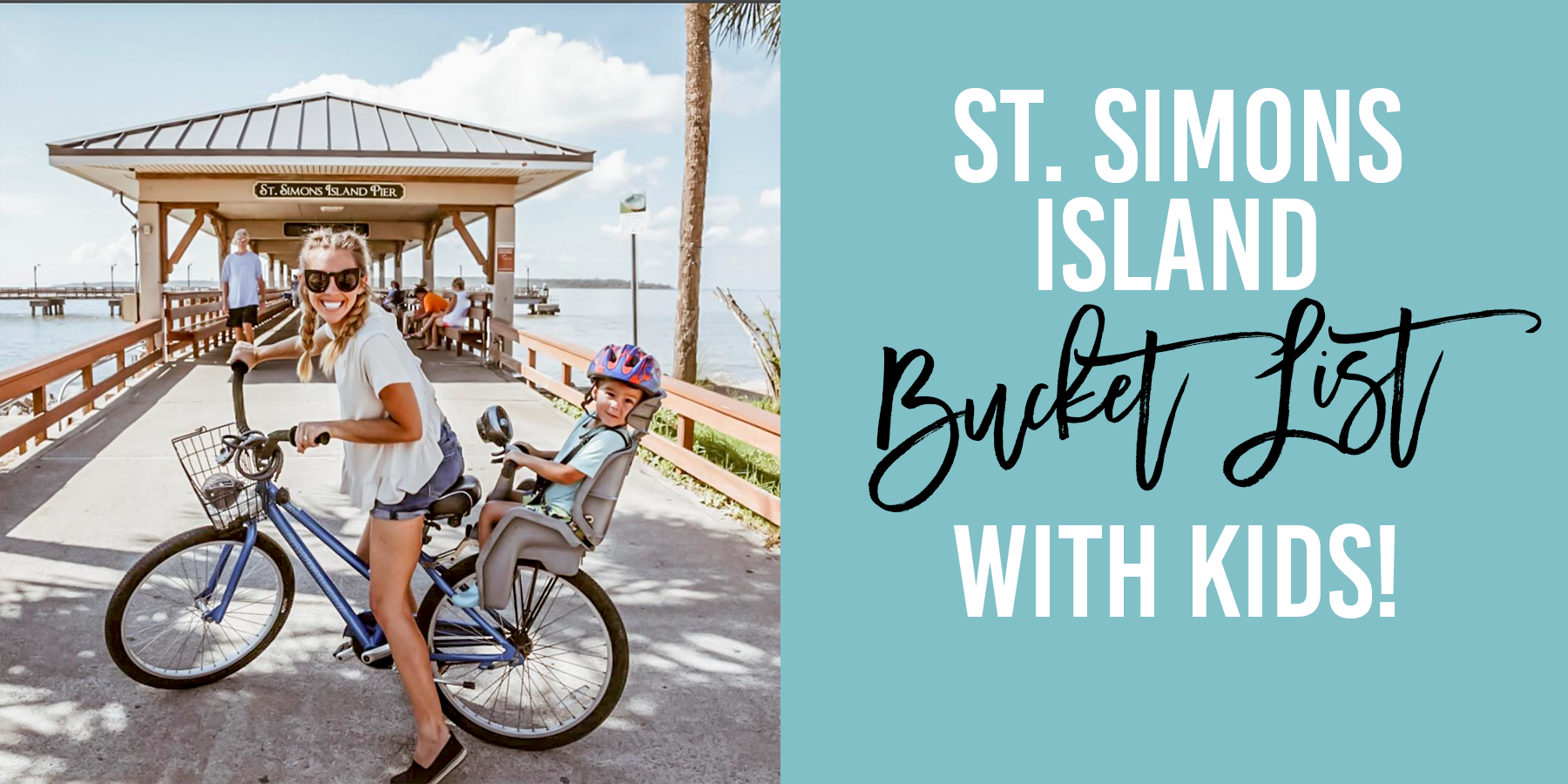 St. Simons bucket list!! Visit St. Simons Island with Kids! Give your kids the vacation of a lifetime on St. Simons Island! #stsimons #kingandprinceresort #stsimonsbucketlist #familytravel #travelwithkids #familybucketlist