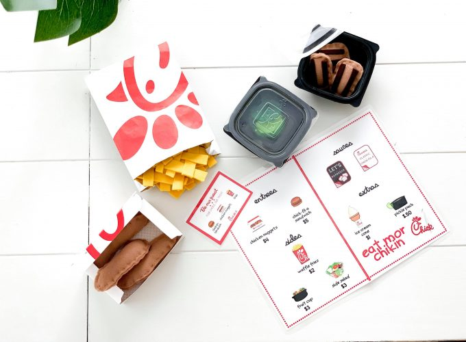 FREE Chick-Fil-A Printable Play Set!