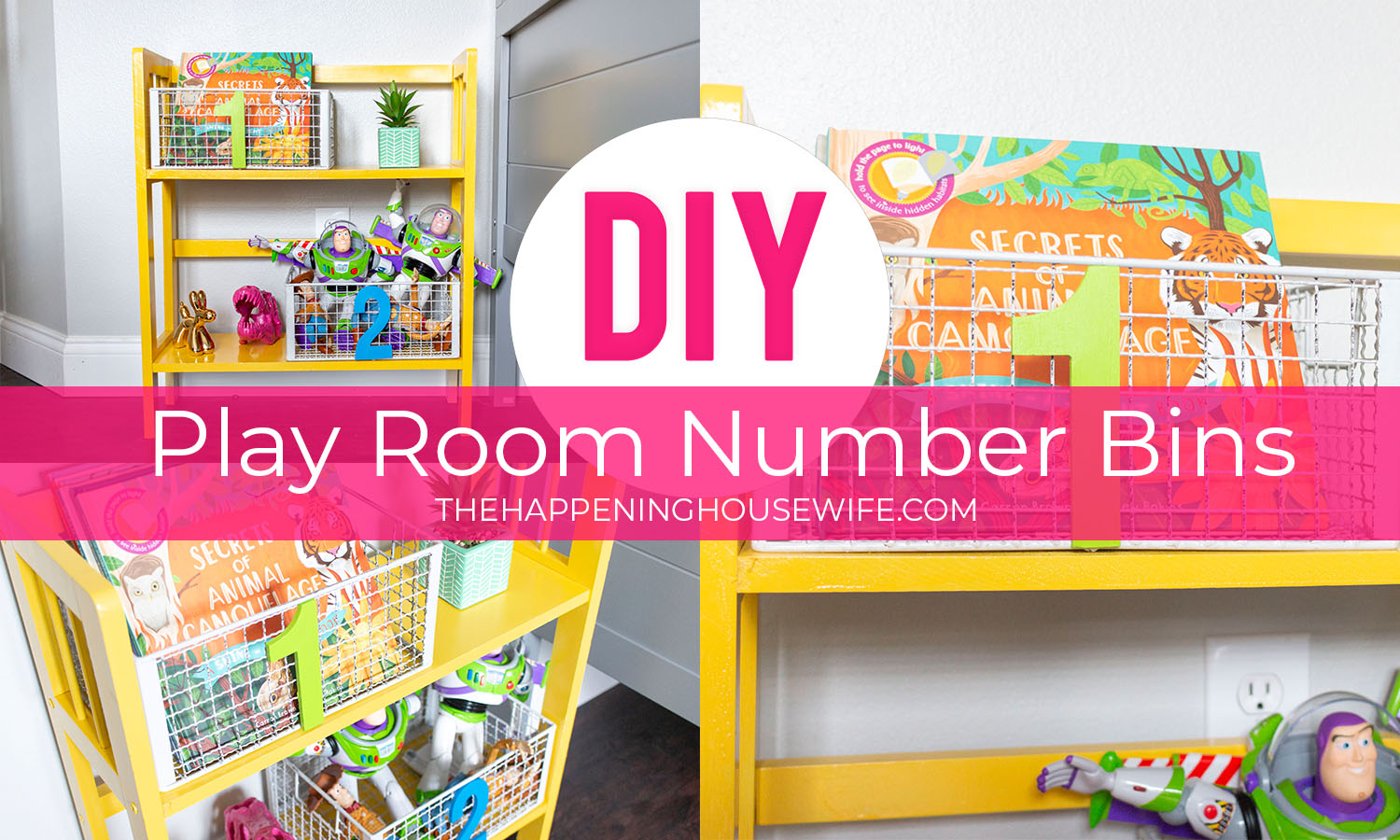 DIY PLAYROOM NUMBER BINS Playroom decor kids decor home decor diy easy home decor kids toy storage