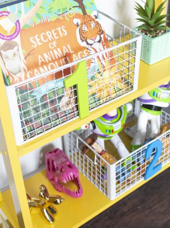 DIY Play Room Storage Number Baskets!! PERFECT Toy Storage in Kids rooms!