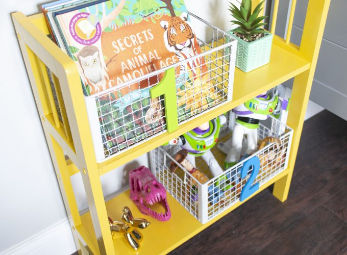 DIY Play Room Number Baskets!!
