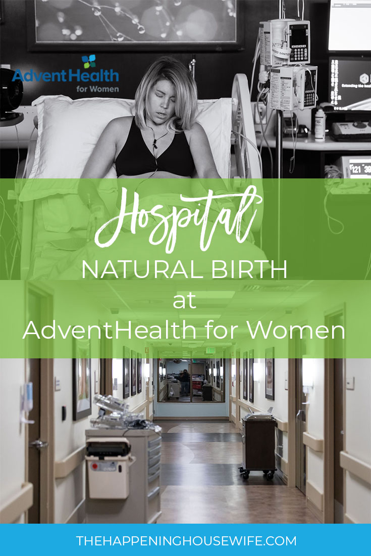 Having a natural birth at a hospital!! Natural Hospital Birth! Birth without Epidural! AdventHealth for Women labor story!.jpg