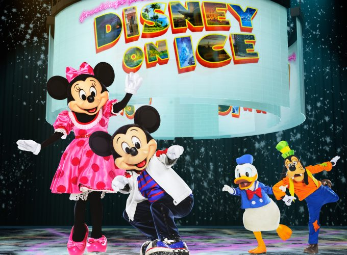 DISNEY ON ICE Road Trip Adventures!!! WIN a Family 4 Pack to Disney On Ice!