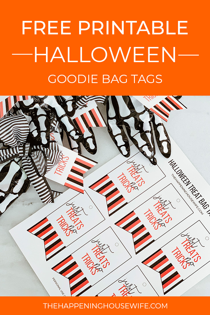 Free Halloween Goodie Bag Tags Stephanie Leigh