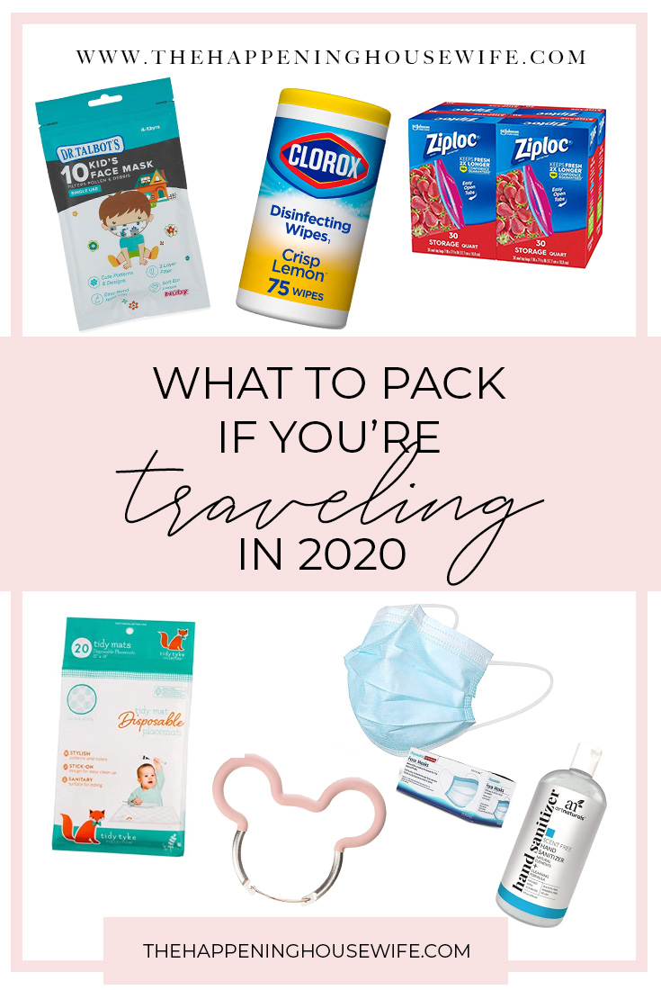 What to pack if you're traveling during COVID