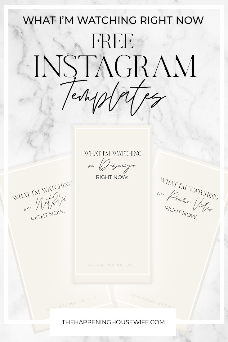 FREE Instagram Story Templates for bloggers and influencers!!
