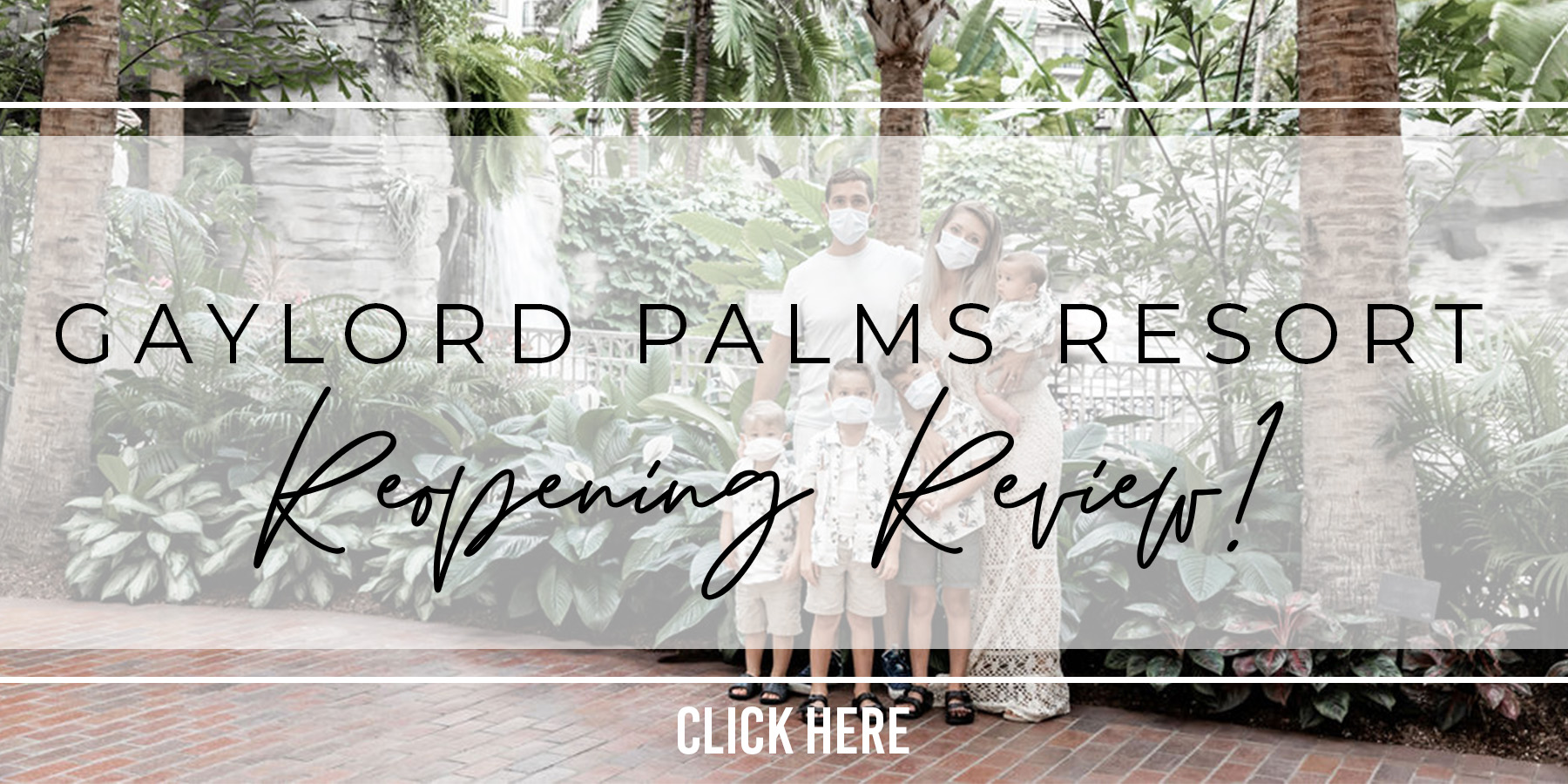 Gaylord Palms Reopening Phase Review Gaylord Palms Orlando Water Park!!