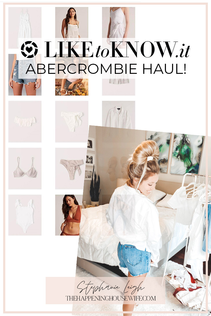 Like To Know It Day Mom Style Fashion for mom Abercrombie Outfits sale Haul!!