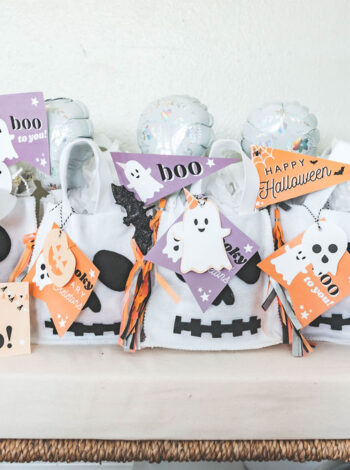 Boo Basket Ideas + FREE Printable Pack!